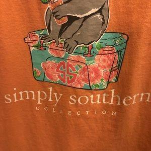 Simply Southern Tops - Simply Southern koala bear sorority shirt